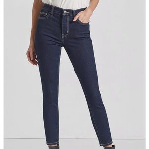 Current Elliott High Waist Stiletto Jeans